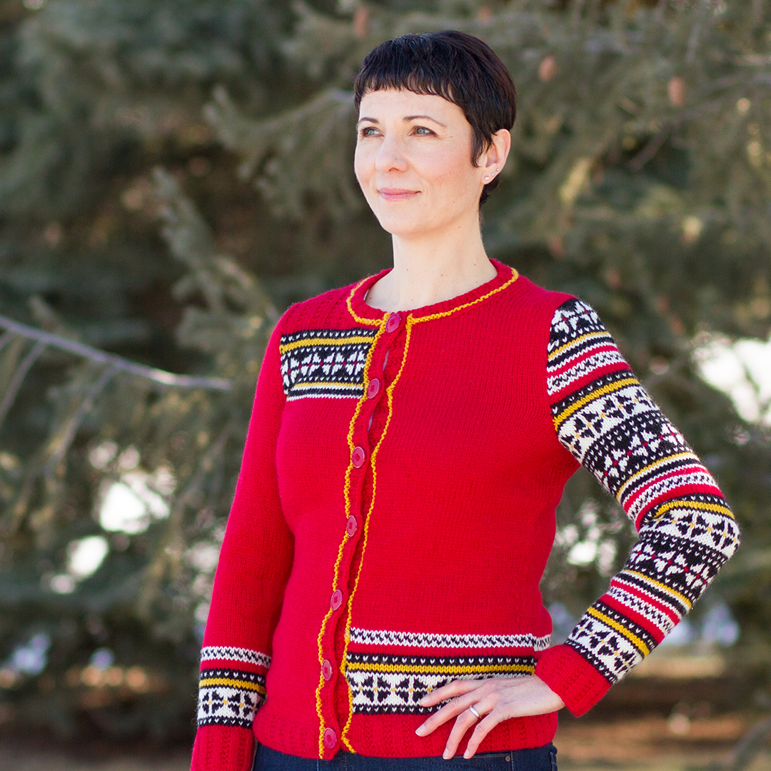Rosalind by Fiona Ellis for River City Yarns