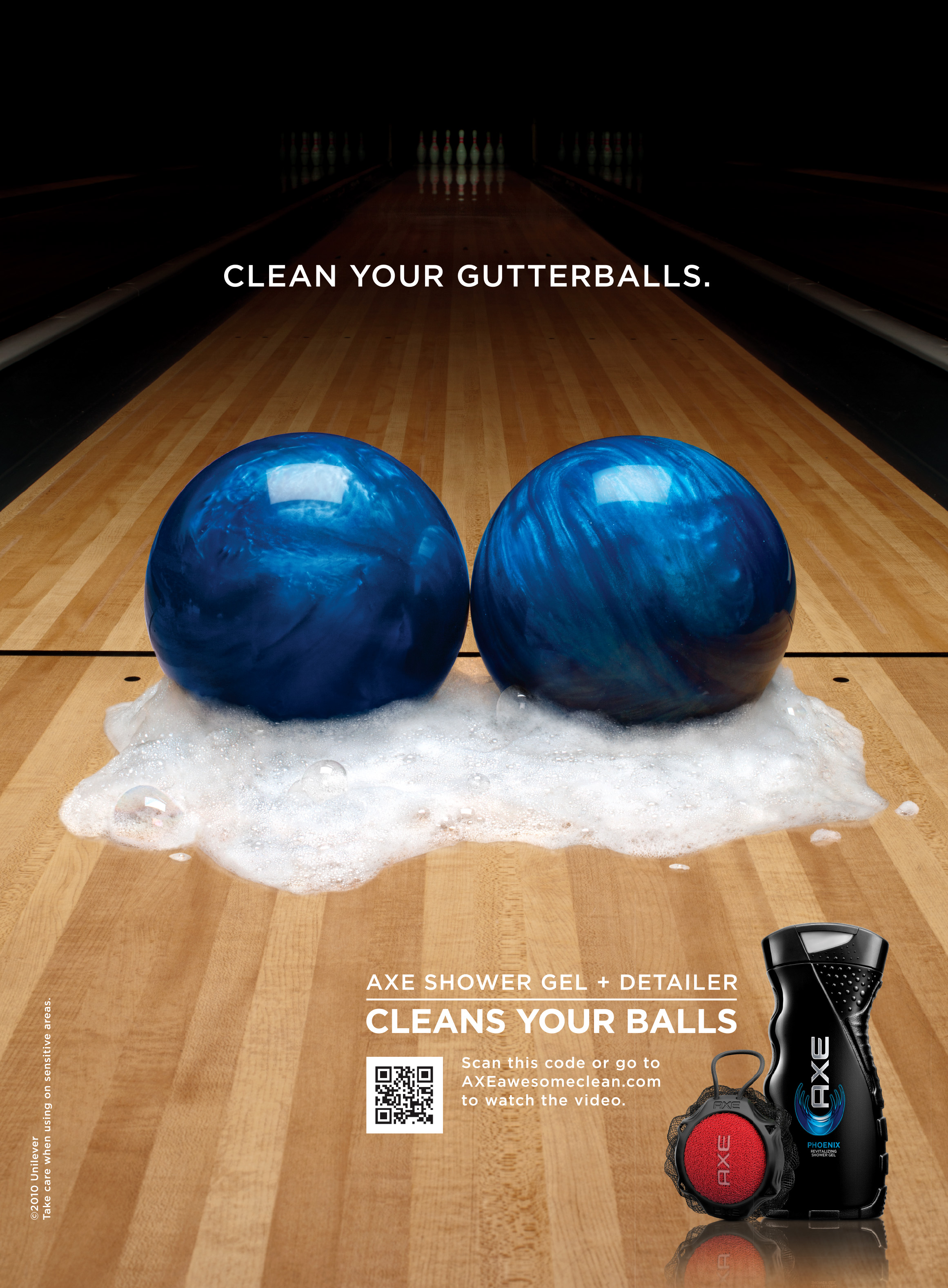 Axe :: Clean Your Balls