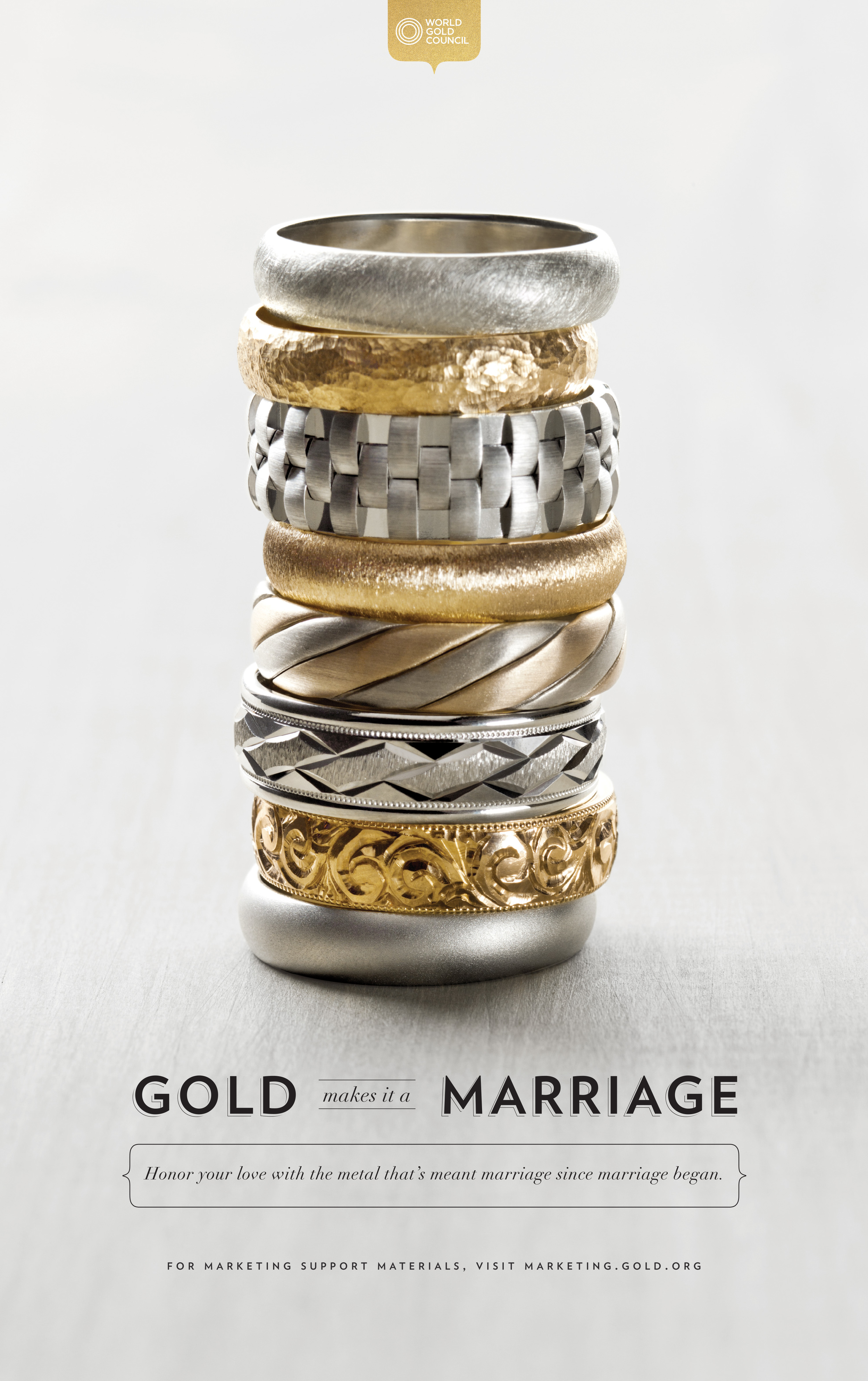 World Gold Council :: Gold Makes it a Marriage