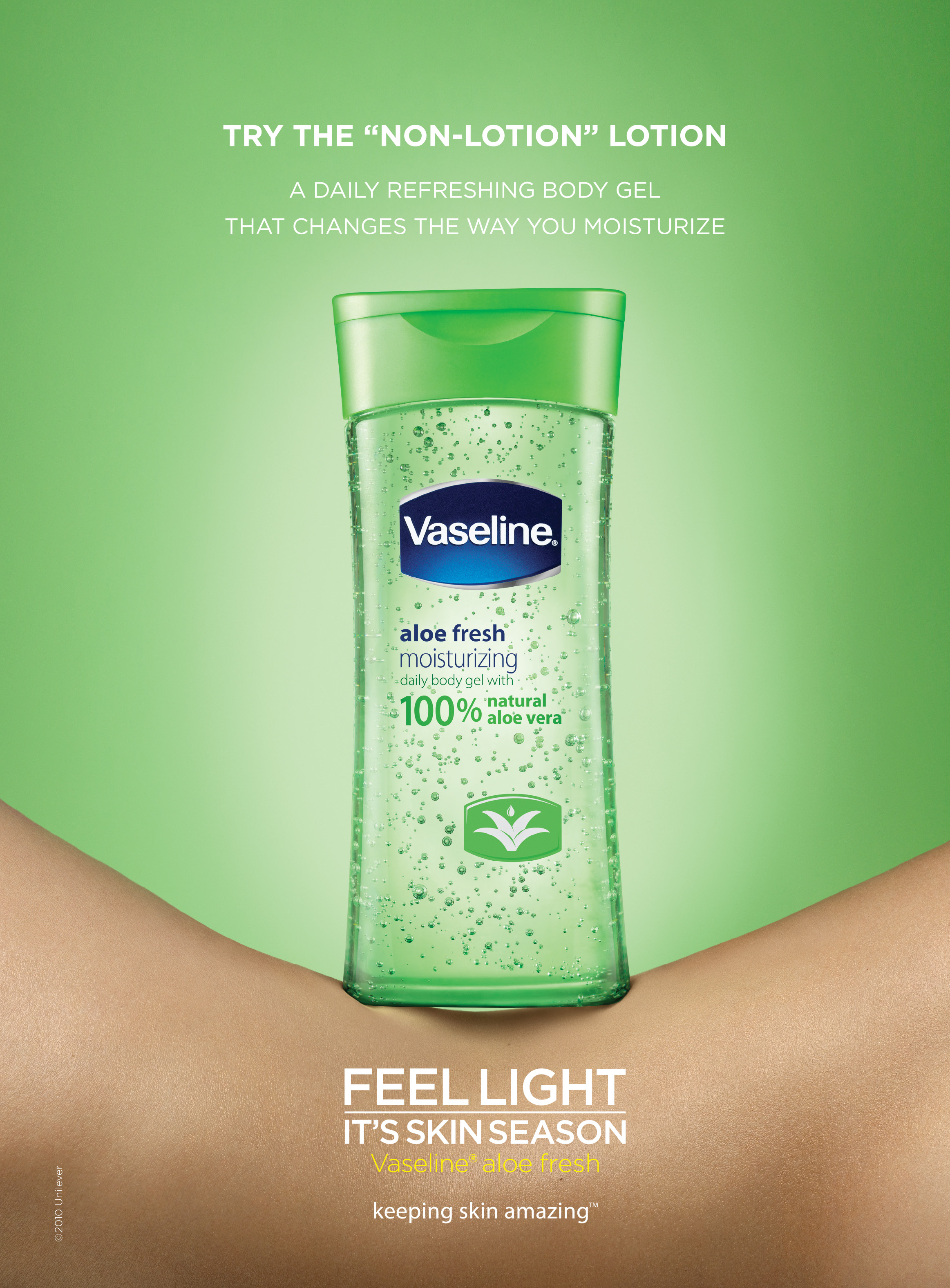Vaseline :: Aloe - It's Skin Season