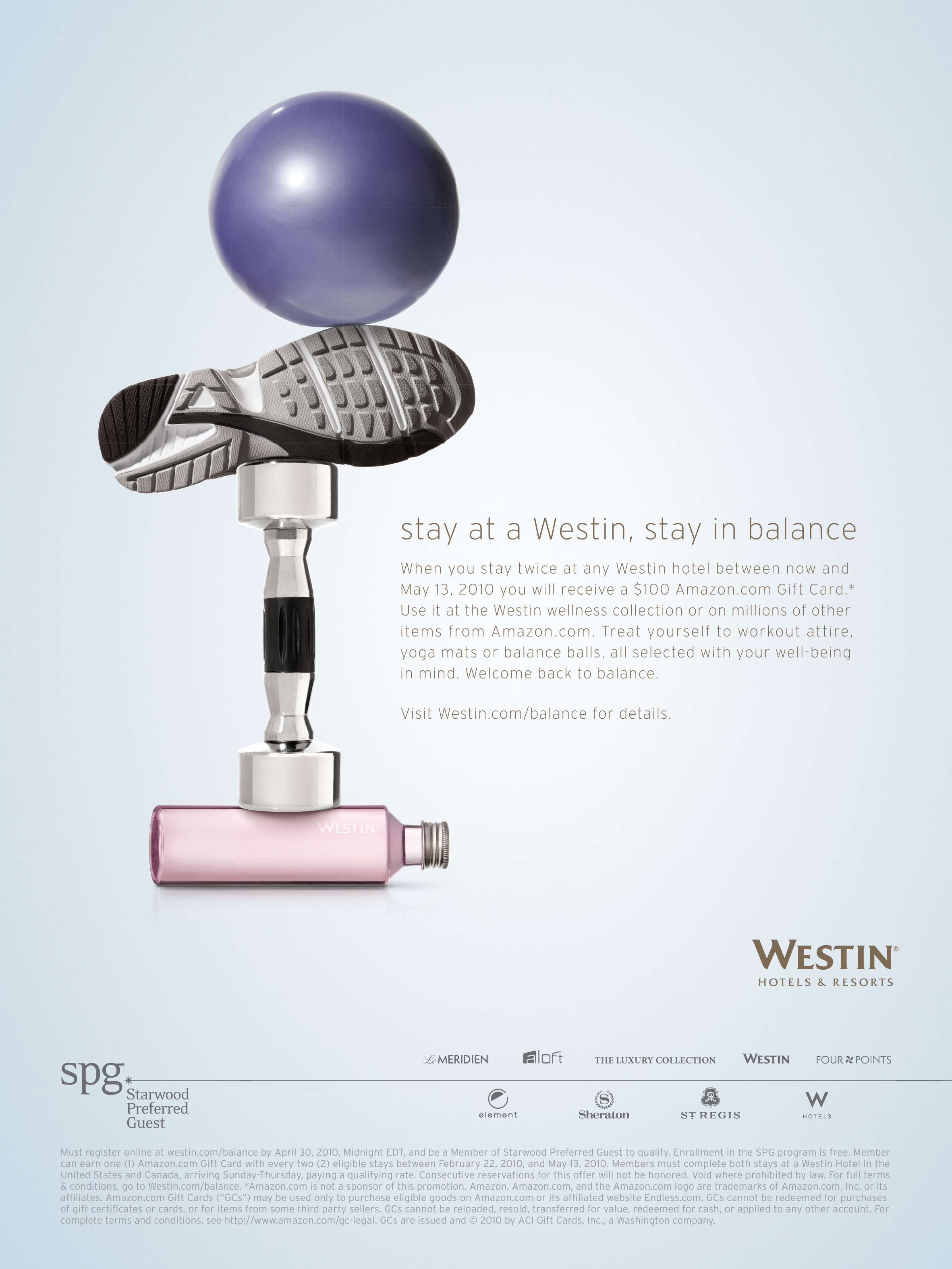 Starwood - Westin Hotels & Resorts :: Balance