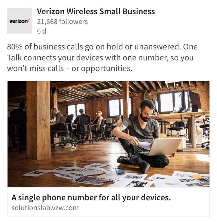 Verizon Small Business One Talk