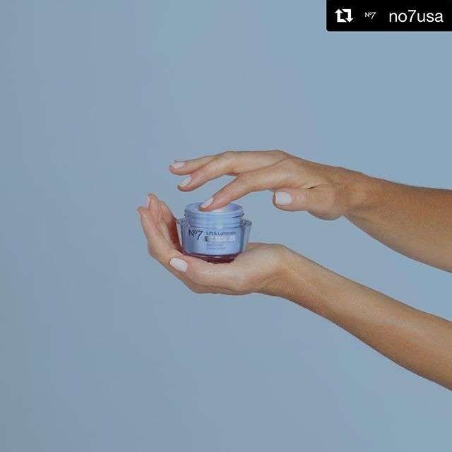@no7usa ・・・ The last step of your PM routine: our new & improved Lift & Luminate TRIPLE ACTION Night Cream for rejuvenating skin while you sleep.
