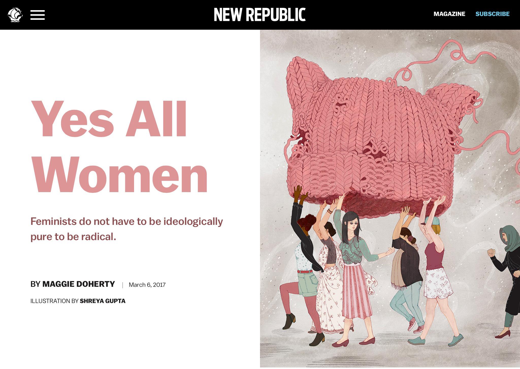 NEW REPUBLIC- YES ALL WOMEN