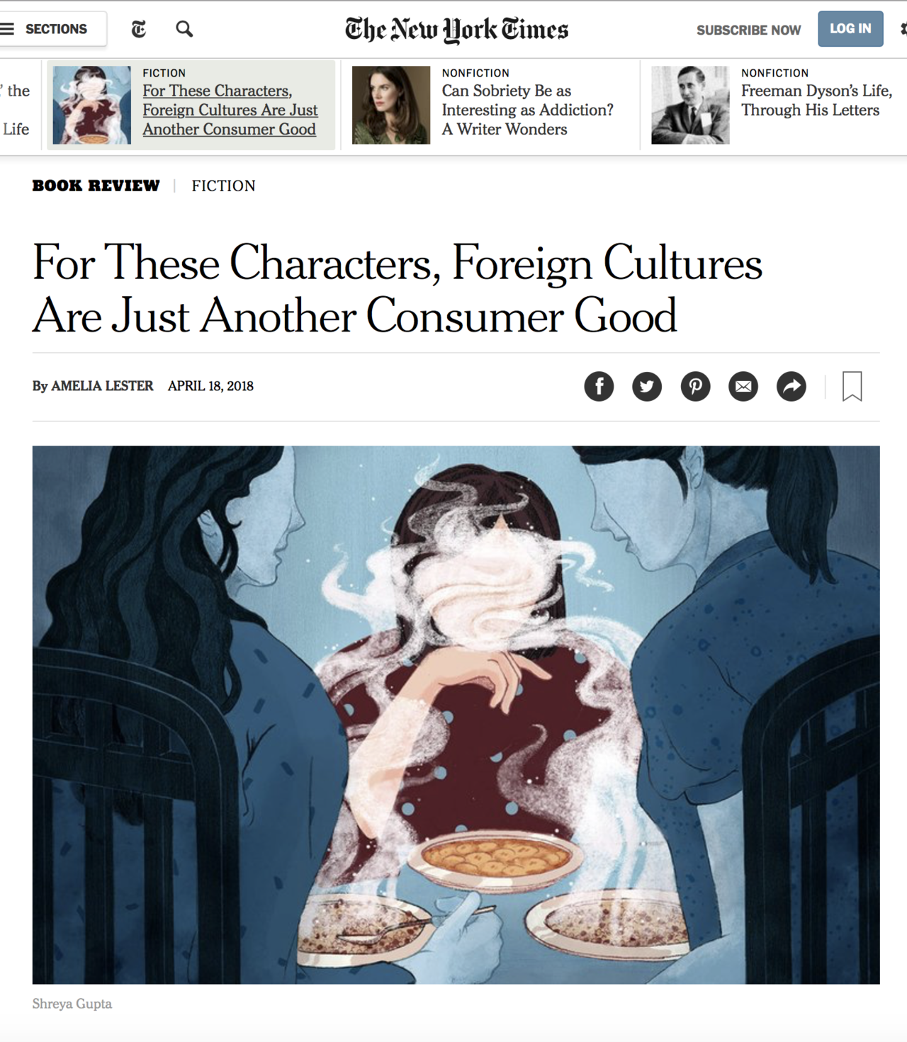 THE NEW YORK TIMES- THE LIFE TO COME