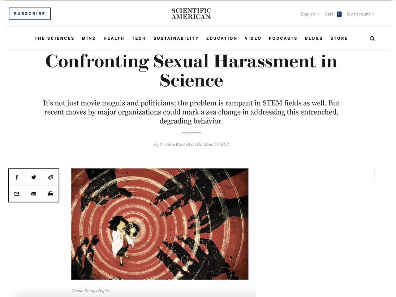 Shreya_tearsheet_Women Confronting Sexual Harrasment in Science.png