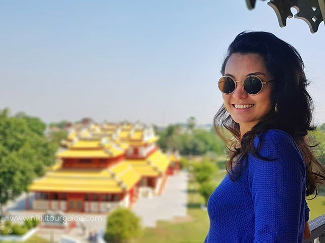 Brazillian smile  #Nikkitourguide #BKKtourguide #photographer #Tourguidephotographer #Thailandtourguide #besttourguide #tourguides #tourguide #photography #ayutthaya #bangpainpalace