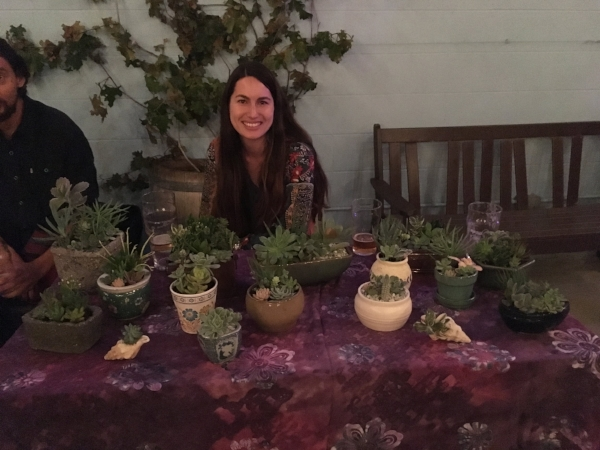 Peace Love & Succulents showcasing some beautiful creations!