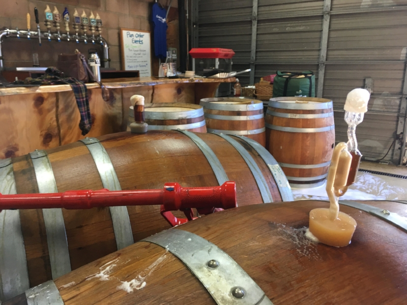 """Both the scientific and artistic elements came into play when we created a speciality small batch Russian Imperial stout,  """"Sputnik""""  last month."""