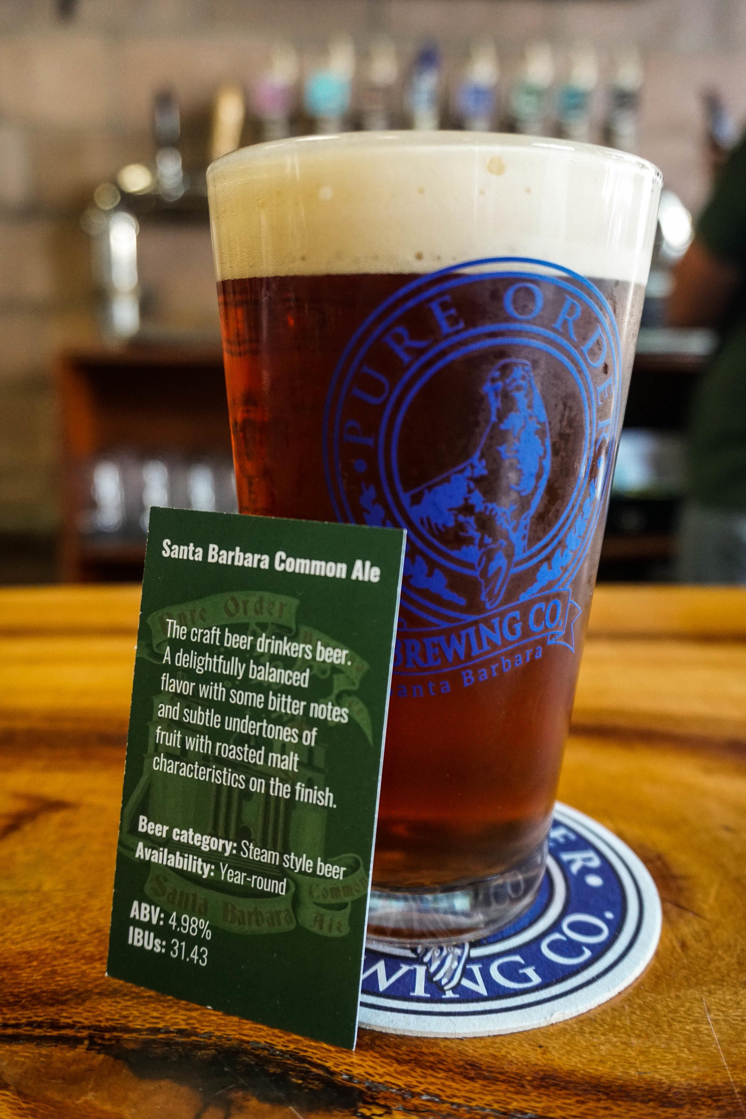Santa Barbara Common Ale