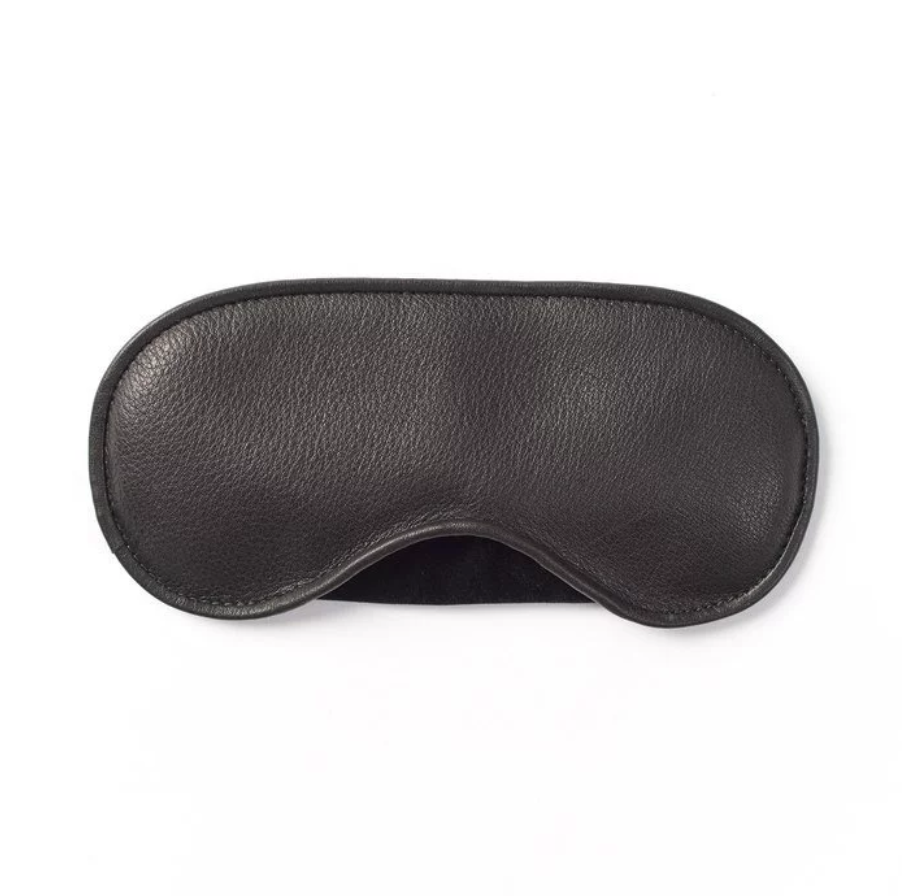 Leather Eye Mask