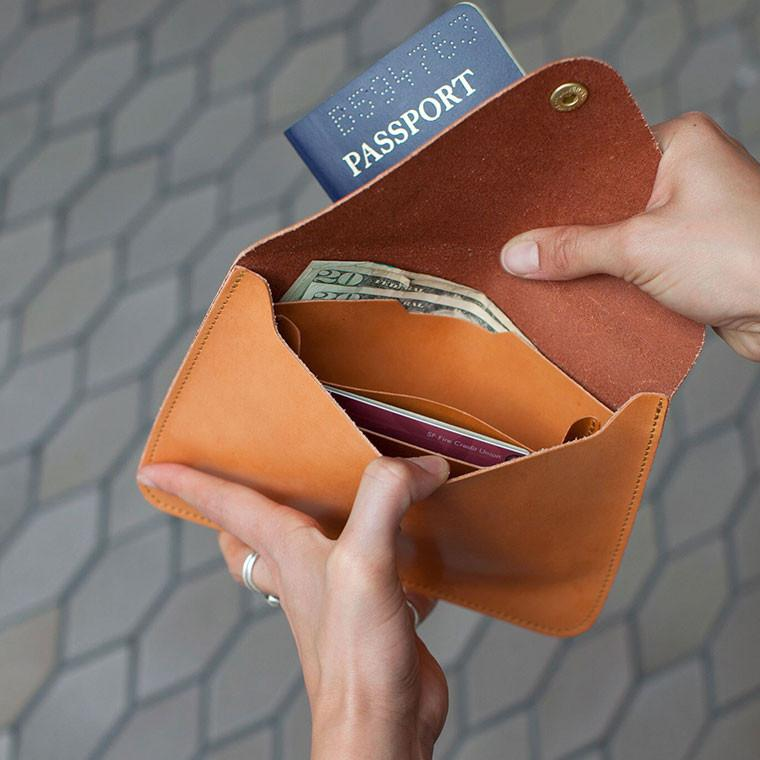 Joshu Vela Passport Wallet