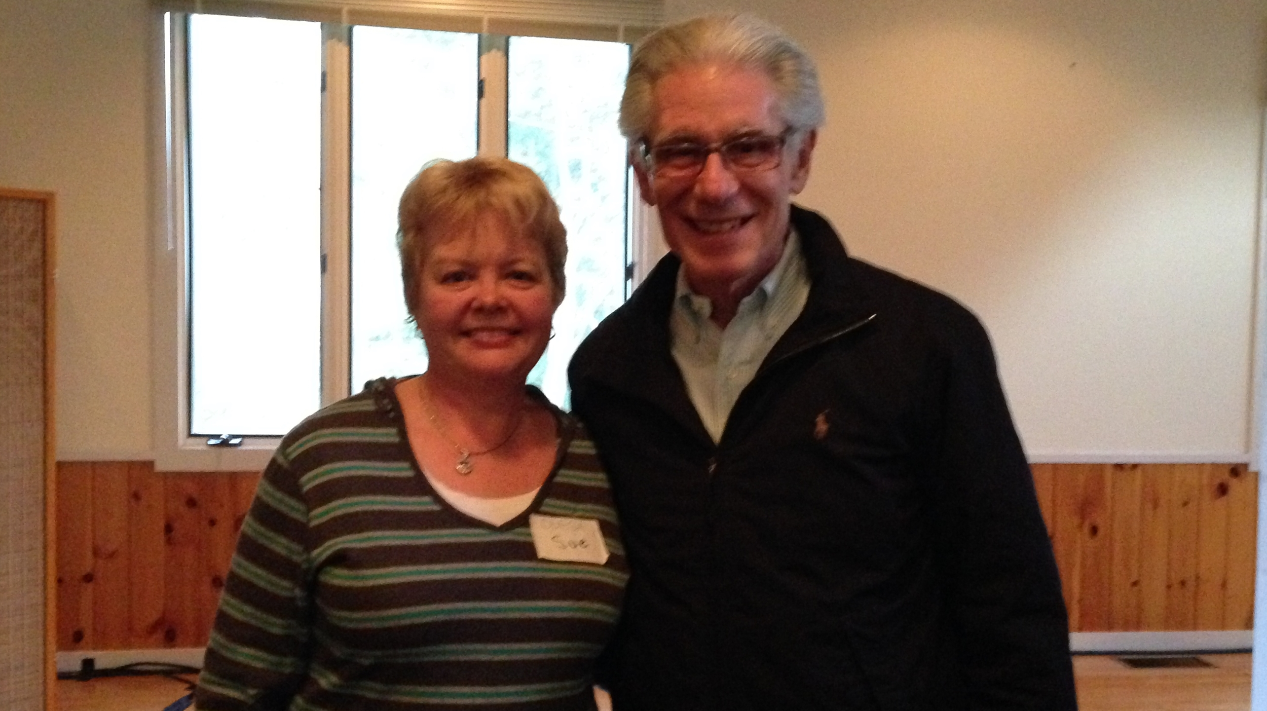 Susan McLachlan with Brian Weiss