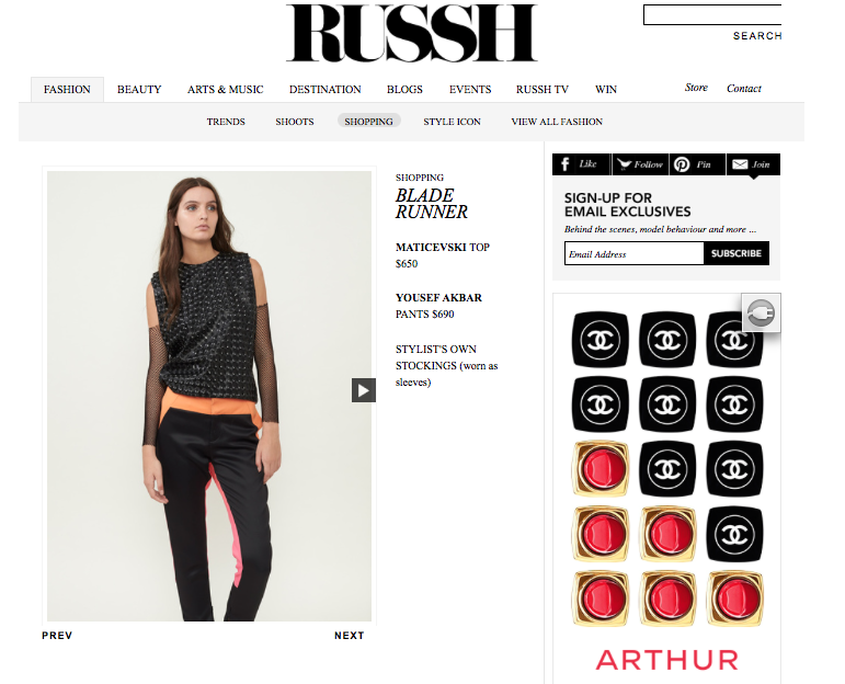 RUSSH Online - March 2015