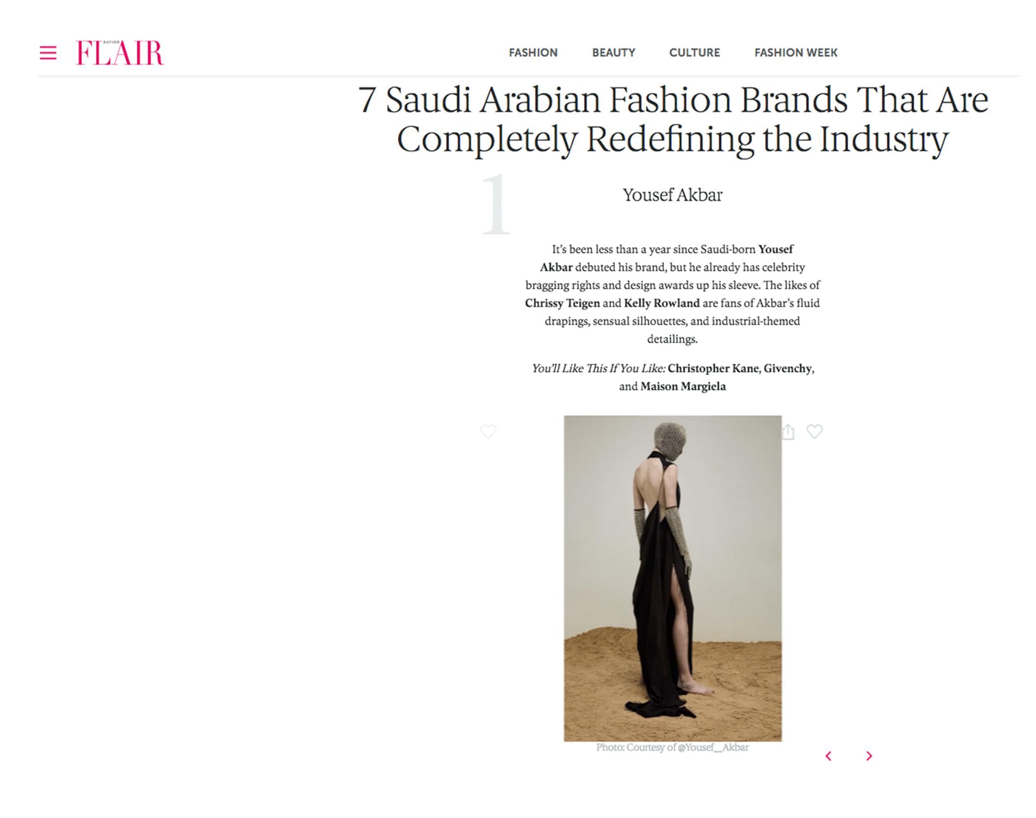 Savoir Flair Middle East - April 2017