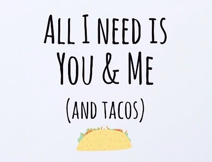 Happy Valentines Day! #🌮 #somethingtotacobout #tacover