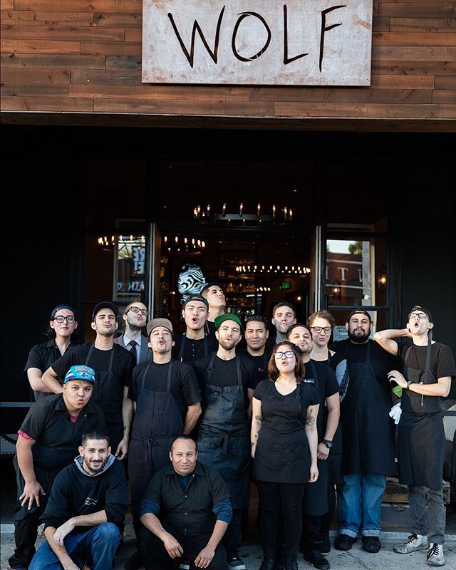 "It comes with great heartache to share that we will be closing both the Wolf and Tacos Lobos restaurants on Melrose. From our pack leader, @marcelvigneron: ""I cannot say enough about my absolutely incredible Wolfpack, that has been with me every step of this journey. While the brick and mortar locations may be closed, the restaurants will continue to live on outside of those walls, as roaming pop-ups, catering, and for special events. I look forward to this next chapter together, and promise to continue my passion for innovation and gastronomy at every turn. Thank you for making Wolf and Tacos Lobos a part of your life, and I can't wait to serve you again very soon. 🐺🖤"" Thank you Chef, for an epic three years."