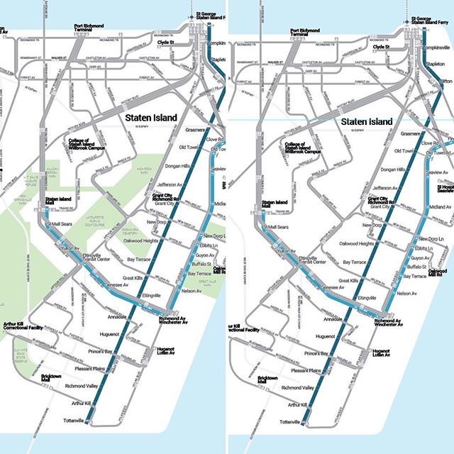Greening and garbage-dumping Staten Island.  A little bit of context for ya. #statenisland #nyc #ny #siferry #subway #bus #mapmonday #maps #transit #transitmaps #freshkills #greatkills #hylanblvd #richmond #oddo #sbs #betterbus #makestaten #anotheroneridesthebus #stgeorge #sir