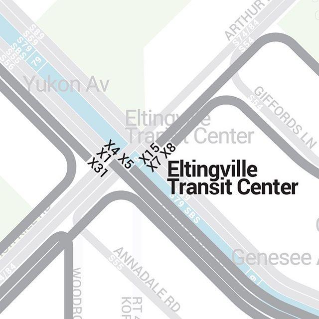 The beginnings of the MTA Express Bus Bullet Map #statenisland #si #staten #verrazano #bricktown #eltingville