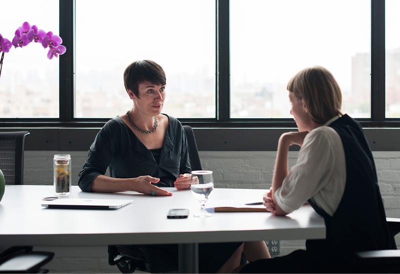 In conversation with Deborah Alden, Managing Director of the Brooklyn Fashion + Design Accelerator. Photography:   Filipa Alves  ,Interview:   Dörte Lange  .