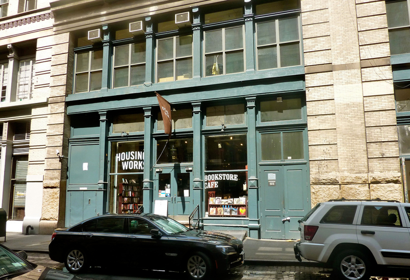 Housing Works Bookstore Café, Photo by   Martin Hearn  .
