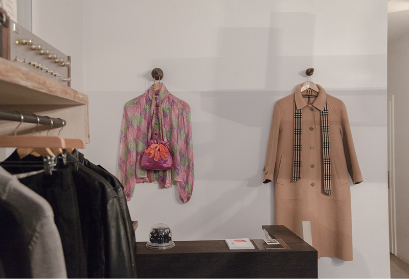 Vintage fashion at  Townes