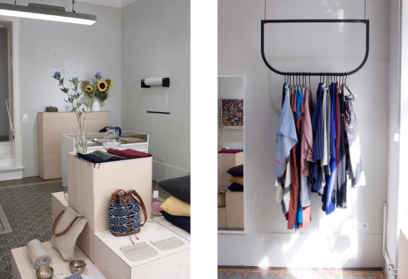 Contemporary artisanal interior, clothing and jewelry at  Folkdays