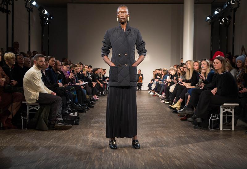 Philomena Zanetti  show at Berlin Fashion Week AW '17