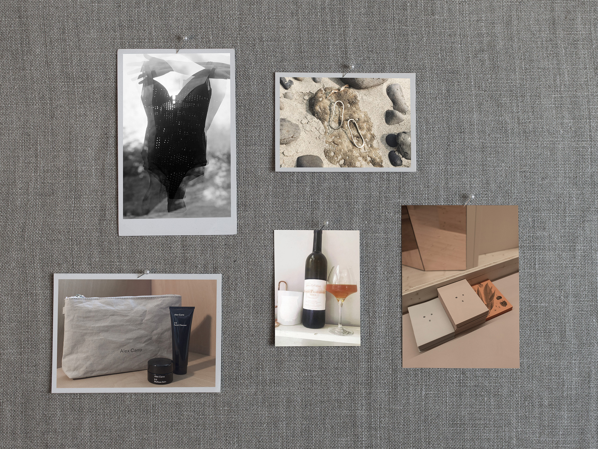 Clockwise from left to right: 4. Padded Body Donna by Opaak for €195, 5. Nekelim Earrings by Elizabeth Leflar for €142, 6. Facial and Body Treatments at MDC Cosmetics Berlin, 7. Natural Orange Wine Bianco Pradarolo 2008 for £17, 8. Discovery Set by Alex Carro for €79
