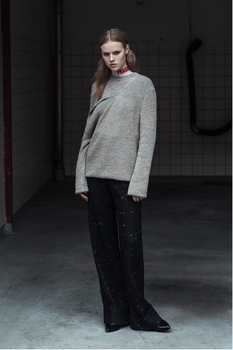 This knitted jumper is the first fully traceable garment.