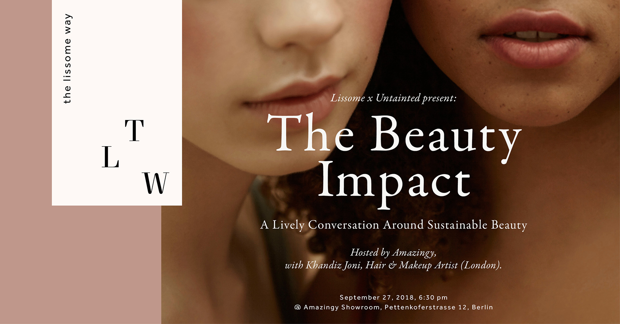 Sustainable Beauty Event, 27th September, 6:30 pm, Amazingy Store, Berlin