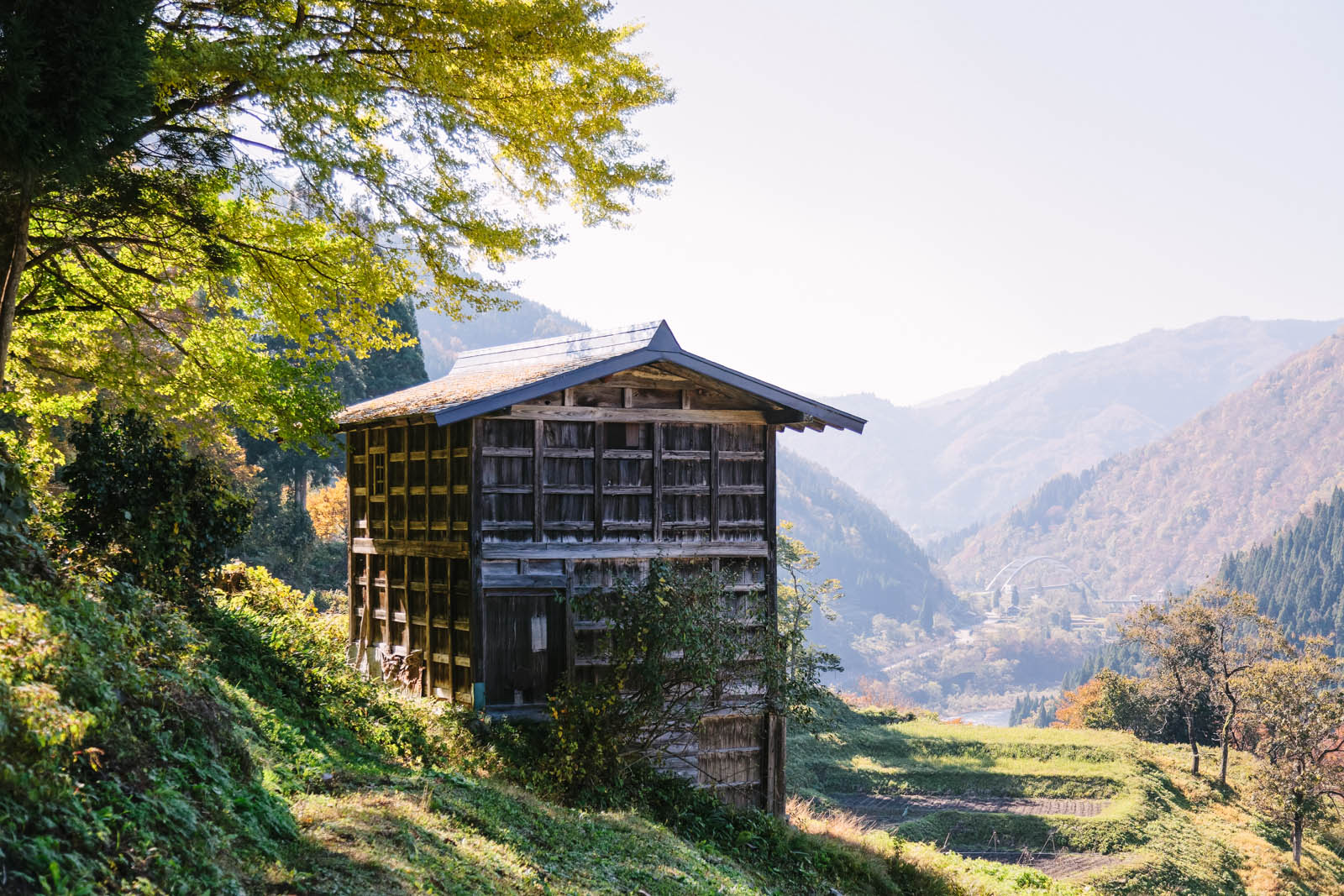 Architectural photography by Ben Tynegate of Gifu Prefecture - Japan