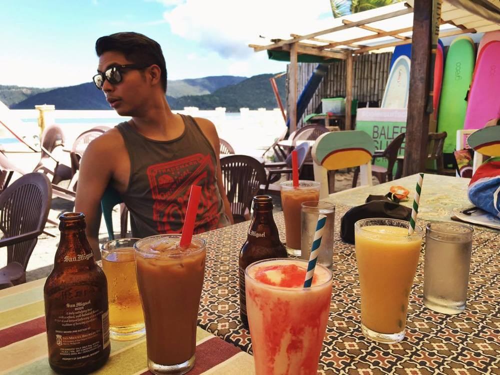 Drinks at Hungry Surfer