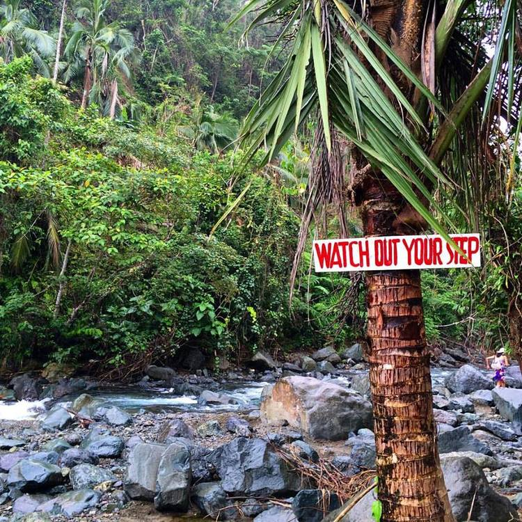 Warning signs on the way to Ditumabo! :)