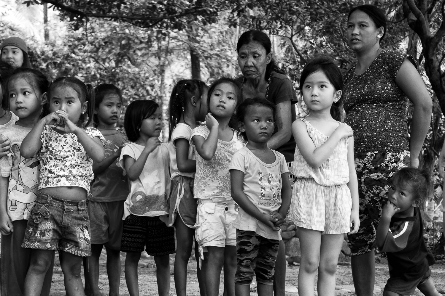 Even if Erin is not quite fluent in Filipino, she still wanted to join the games with the kids from the local community.