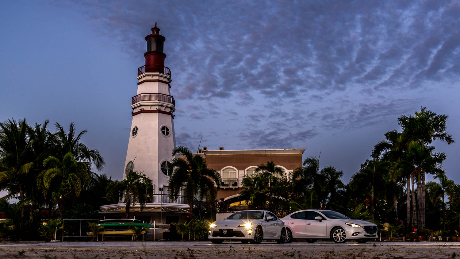 For this particular road trip, I got to drive the 2017 Toyota 86 AT with the girls while my husband Miguel got to drive the 2017 Mazda3 2.0L SkyActiv R with GVC along with the New Media Factory crew. And we all got to stay at our favorite Subic hotel,  The Lighthouse Marina Resort .