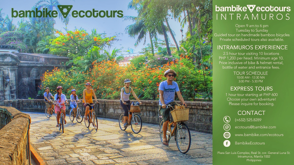 Photo from http://bambike.com/intramuros-experience