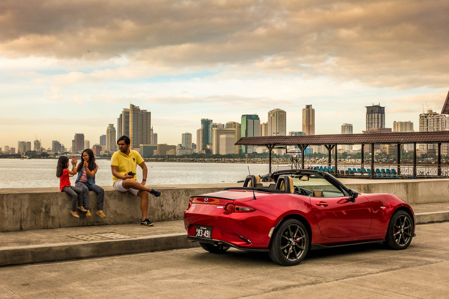 We'd like to extend our sincerest appreciation to Mazda Philippines for letting us enjoy this soul red beauty during a recent road trip. More about the Mazda MX-5 A/T Soul Red coming soon on  Opus Macchina .