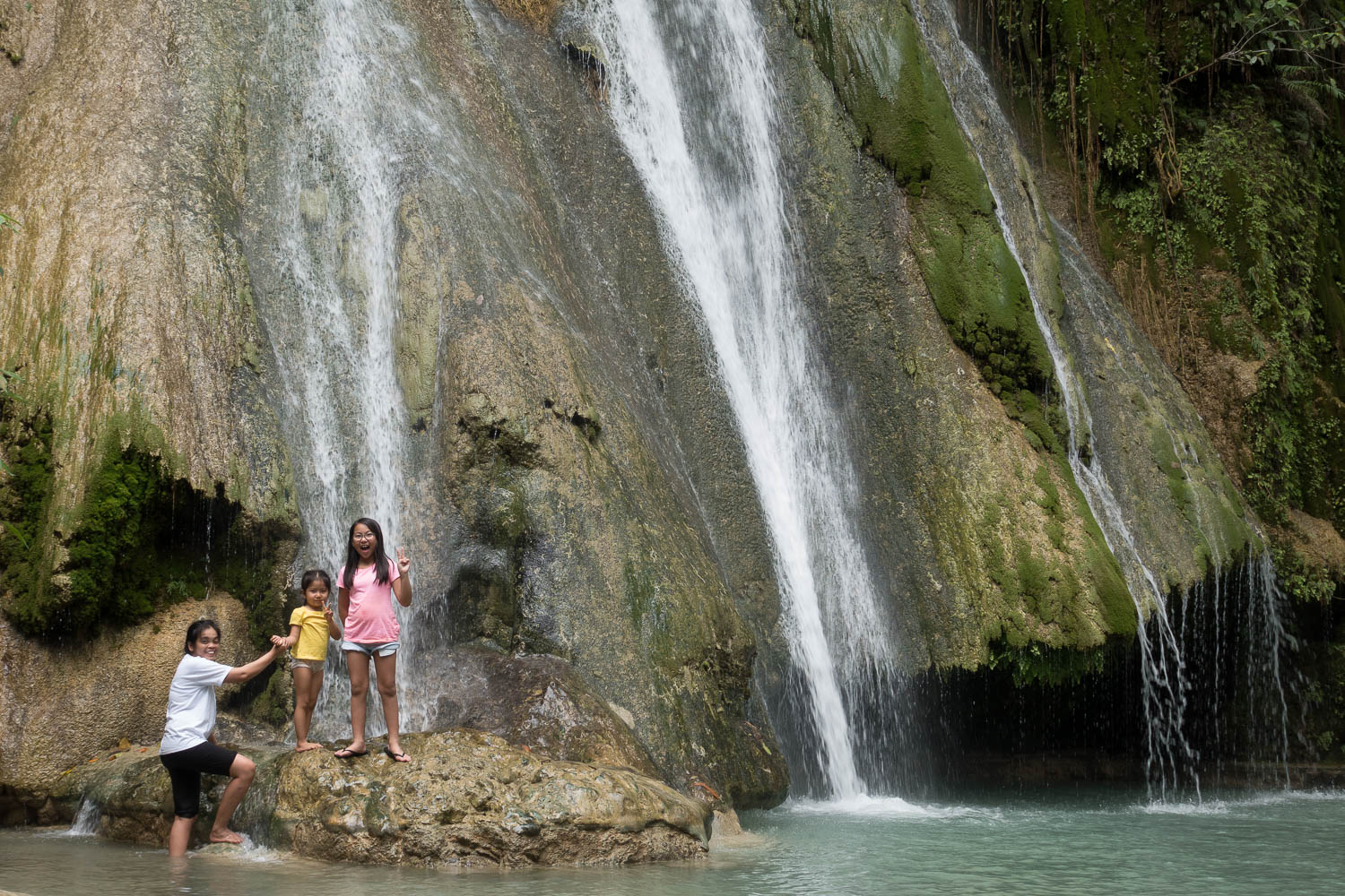 We found paradise by accident when we chanced upon Batlag Falls while looking for something else.