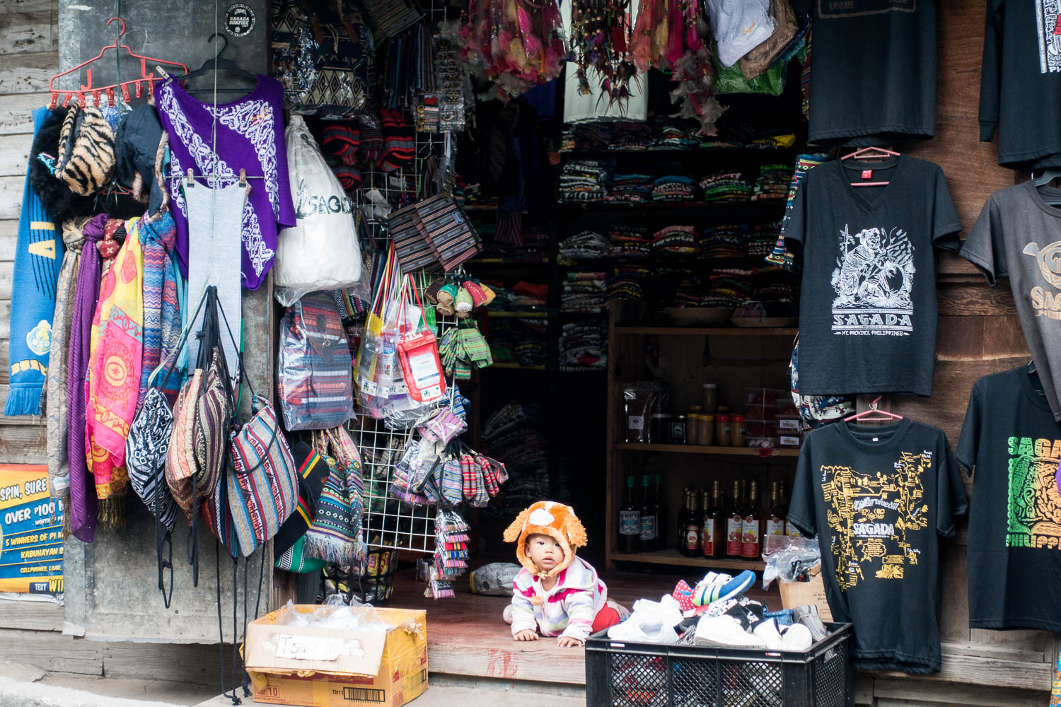 The cutest shopskeeper along the bustling main road with shops and restaurants.
