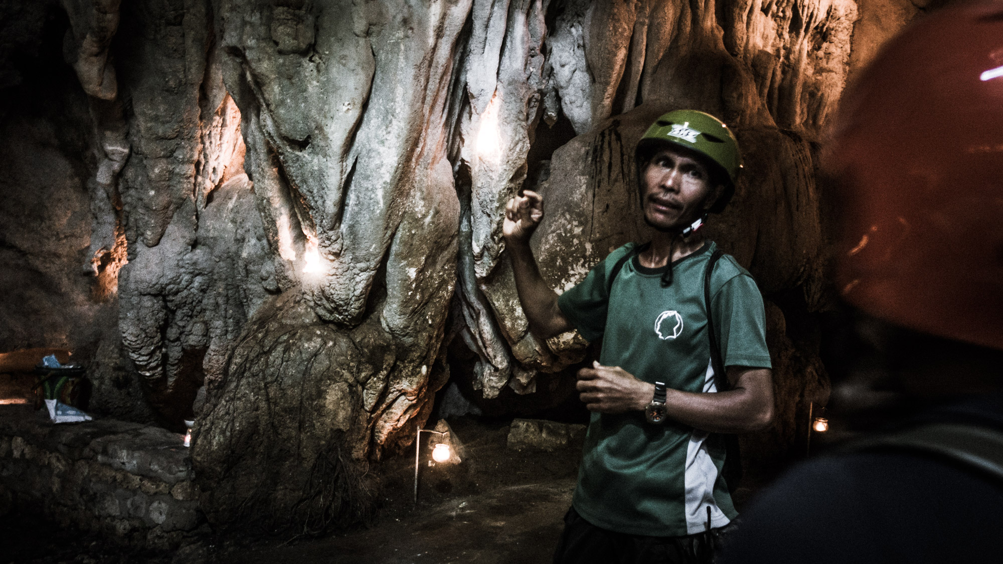 YUNGIB NI RUBEN. Inside the cave that Kuya Ruben discovered, which is aptly named after him.