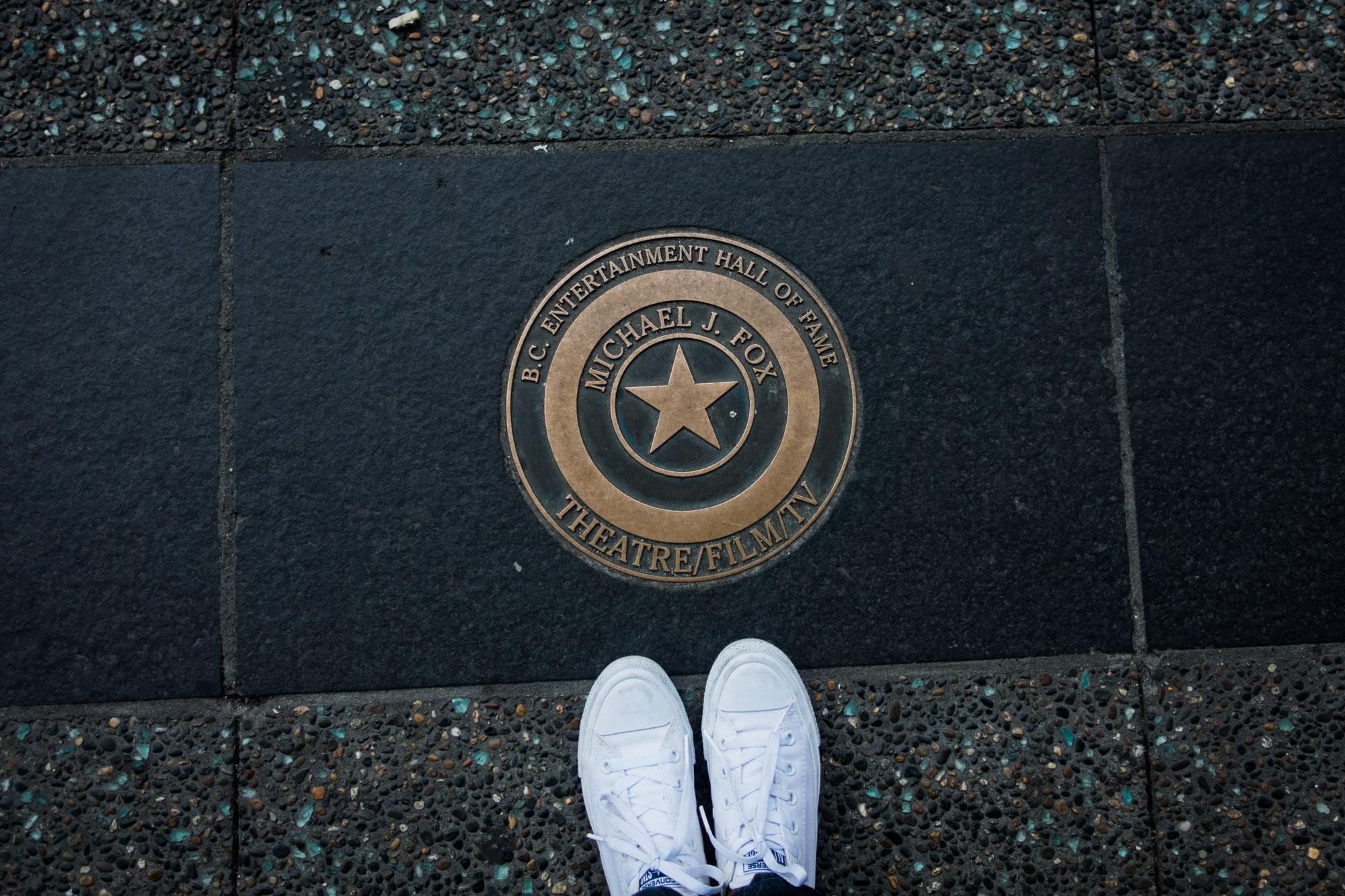 Walk of Fame, Granville St.