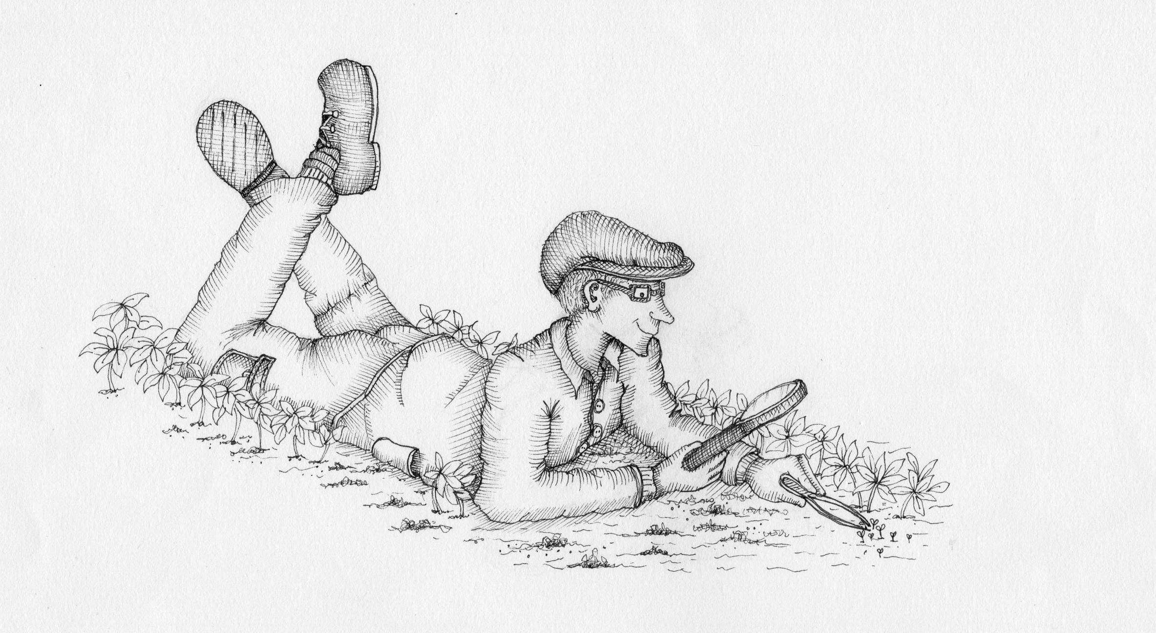 Just a little micro-weeding, dear!