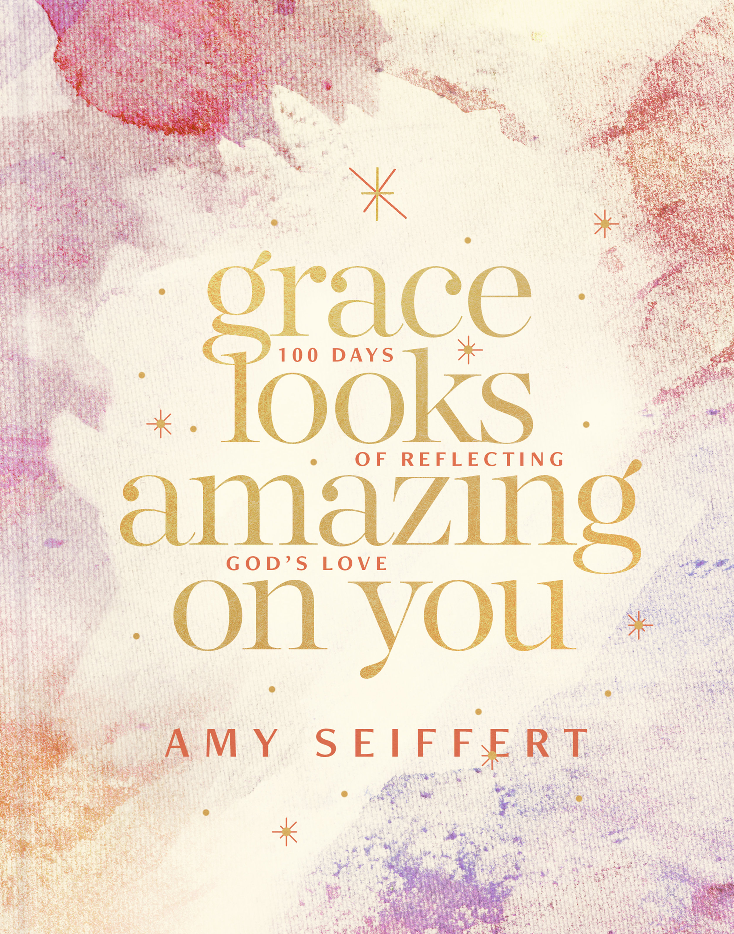 Coming Soon! - What if today is the perfect time to notice God's grace in one another?Women are so often weighed down by comparison, anxiety, and fear that the idea that grace could look amazing on them feels unbelievable. But all around us are flashes of grace, shining examples of God.Amy Seiffert says it's the every day moments that Jesus shines through: making time for a friend even when you your to-do list is pages long, apologizing to your neighbor when you don't want to admit you were wrong, opening the Bible when your soul feels hollow and empty.A perfect gift to affirm and encourage women, Grace Looks Amazing on You is a timeless Christian message packed with personal story and reflection, scripture, and deep biblical truth. This 100 Day devotion will help you change your perspective so you can confidently radiate the grace of Christ.