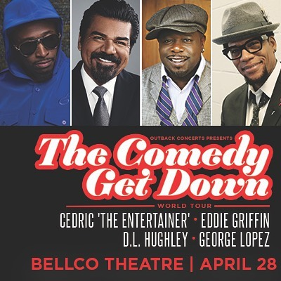 ON SALE NOW: The Comedy Get Down World Tour heads to #Denver on 4/28 at @bellcotheatre! #CGDTour #Denver #Colorado