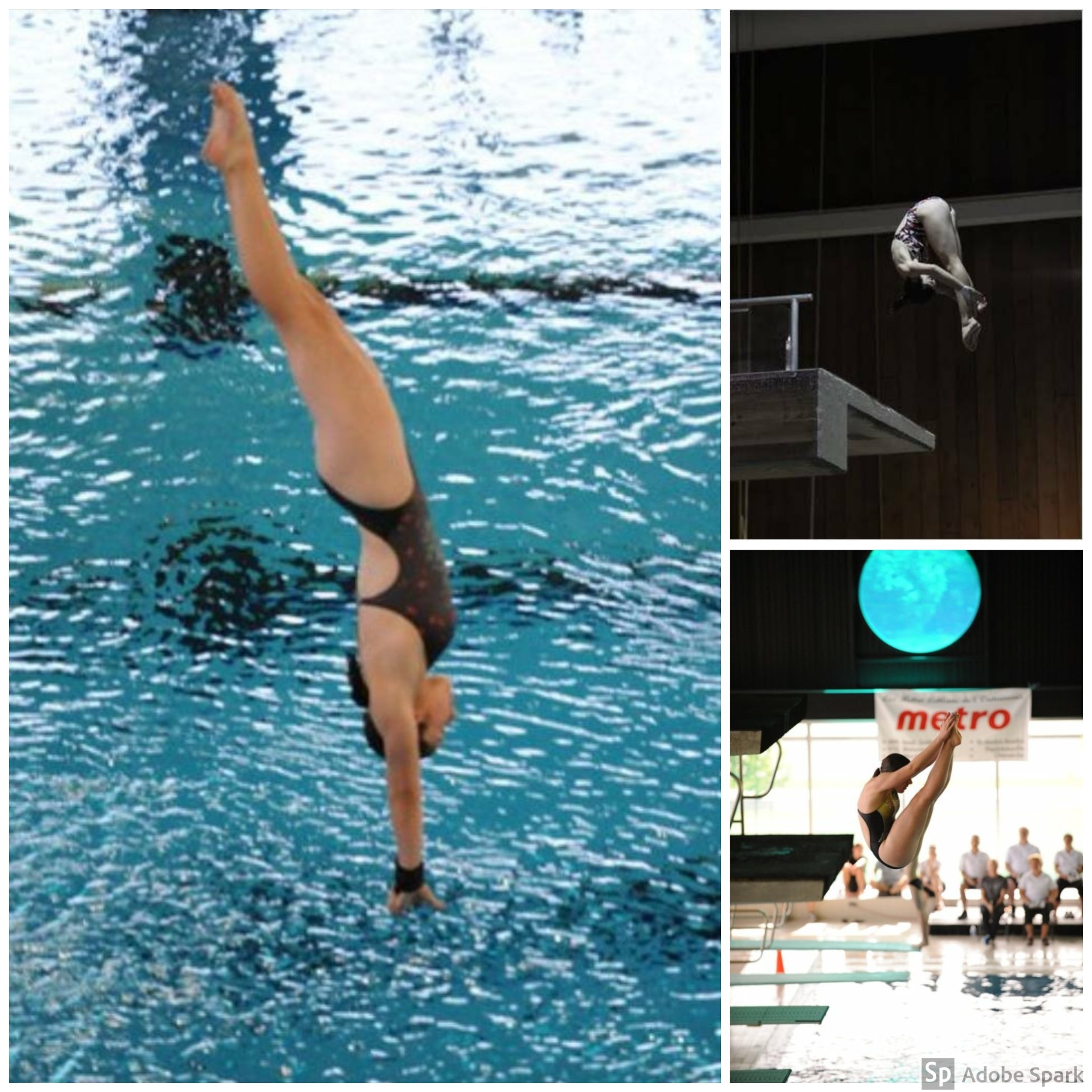 Dawn Turner - I started diving with NODC in 2000 when I was five years old. Diving quickly became my favorite sport because of how supportive, kind, and encouraging the coaches and other participants were. I had a proud 10 year career with NODC going to Nationals and winning Provincials with my Synchro partner Sarah Mayer. I loved the sport so much that I became a coach working along side Fernando Henderson. For me diving was the best part of my day and even if I was nervous to learn a new dive, my coaches always had faith in me and taught me so much more than just how to do flips. I reflect on my current accomplishments, graduating on an athletic scholarship in golf, and currently becoming a professional golf instructor because of the NODC program.Diving is an unique sport that teaches discipline, strength, mental toughness and most importantly, how to build strong relationships.I am proud to be a NODC alumni and to this day I still help out when I can because of my diving family.