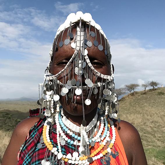 Theresia / Ngabobo Village   Olkaba necklace
