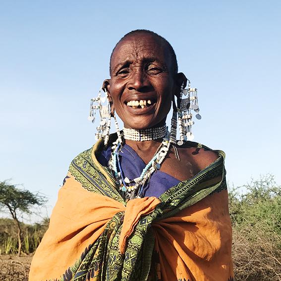 Leah Olewaya / Madebe Village   Embenyeta earrings