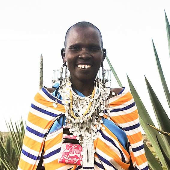 Esther / Lekirumuni Village   Ilmbumbui necklace