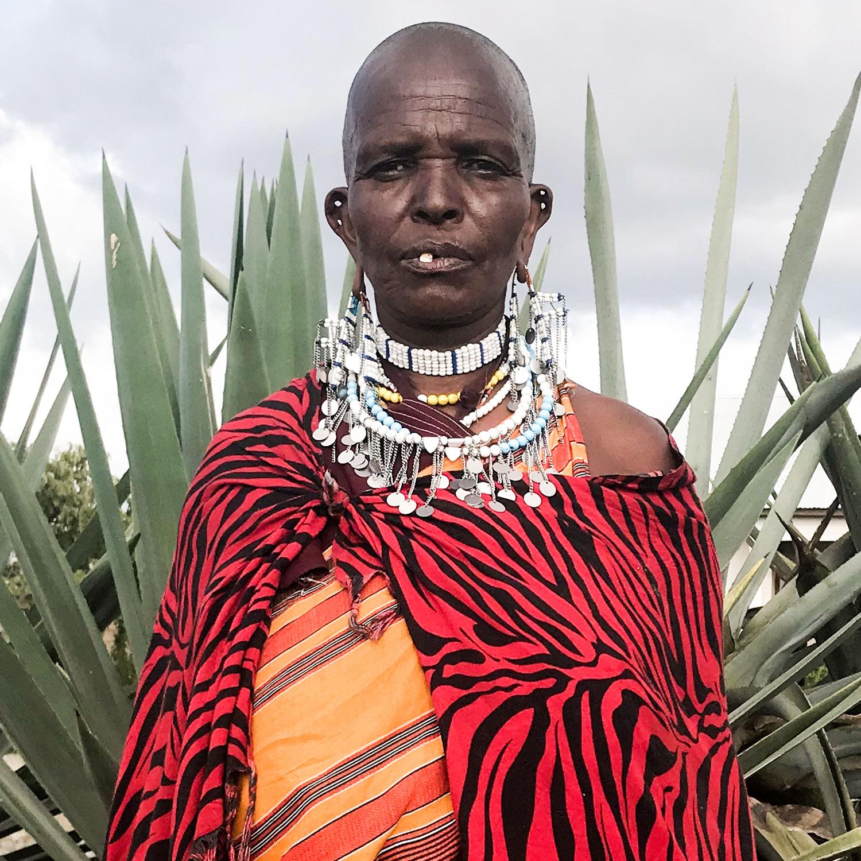 Maria / Lekirumuni Village   Embenyeta earring